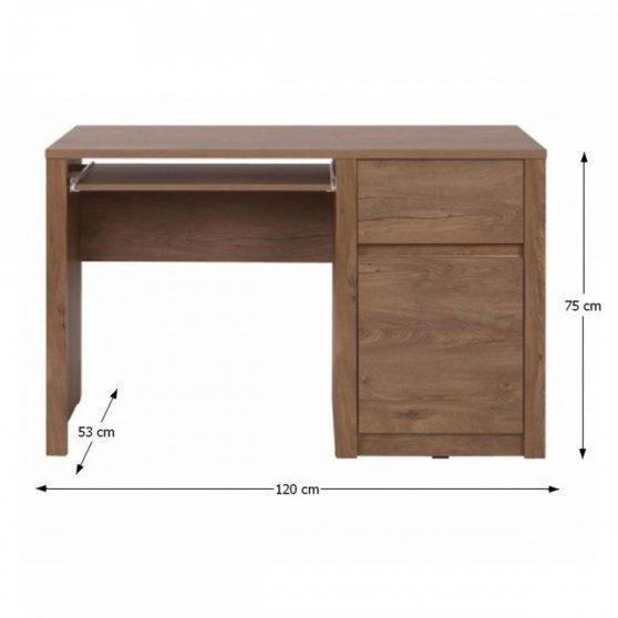 MONTE 17 PC asztal tölgy