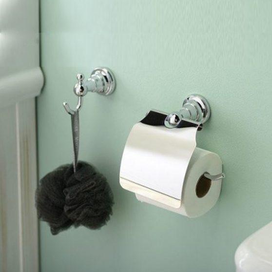 Diamond WC papír tartó króm