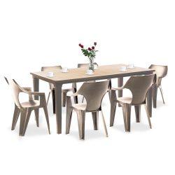 Fuante 6+1 kerti bútor garnitúra szett