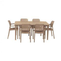 Fubali 6+1 kerti bútor garnitúra szett