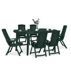 Elba 6+1 kerti bútor garnitúra szett