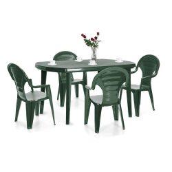 Elboni 4+1 kerti bútor garnitúra szett