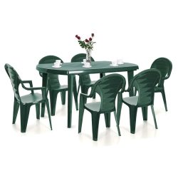 Elboni 6+1 kerti bútor garnitúra szett