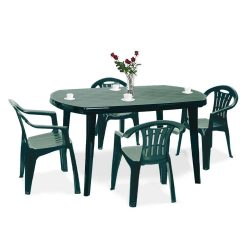 Elma 4+1 kerti bútor garnitúra szett