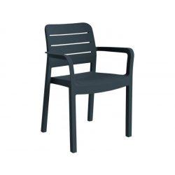 Tisara kartámaszos műanyag kerti szék