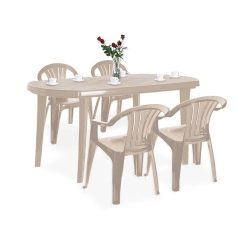 El Szicilia 4+1 kerti bútor garnitúra szett