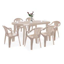 El Szicilia 6+1 kerti bútor garnitúra szett