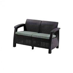 Corfu love seat kerti kanapé