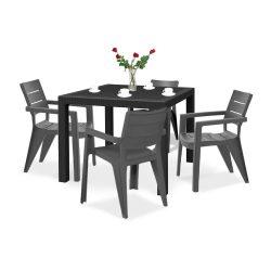 Ibiza quartet 4+1 kerti bútor garnitúra szett