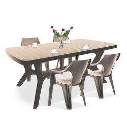 Balante 4+1 kerti bútor garnitúra szett