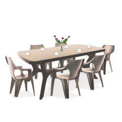 Balante 6+1 kerti bútor garnitúra szett
