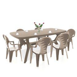 Bare 6+1 kerti bútor garnitúra szett