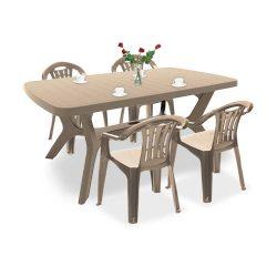 Balorca 4+1 kerti bútor garnitúra szett