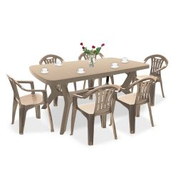 Balorca 6+1 kerti bútor garnitúra szett