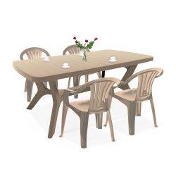 Balicia 4+1 kerti bútor garnitúra szett