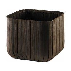 Cube planter M műanyag virágláda
