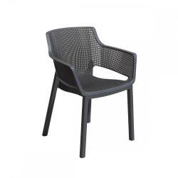 Elisa műanyag kerti szék