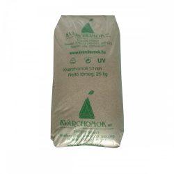 Kvarchomok, 1-2 mm homokszűrős vízforgatóhoz 25 kg