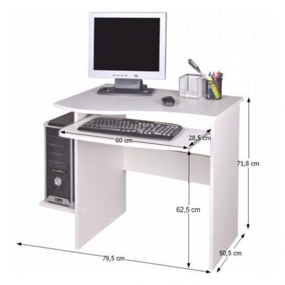 Melichar számítógépasztal
