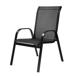 Arkadia kerti szék fekete