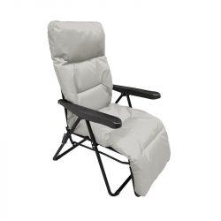Mogan kerti szék szürke színben