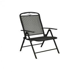 Alba fém mesh összecsukható kerti szék