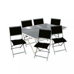 Hapari 6+1 kerti bútor garnitúra