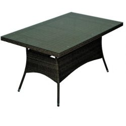 Bay fémvázas kerti asztal