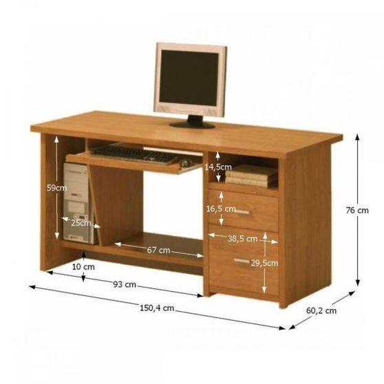 Oscar PC1 íróasztal