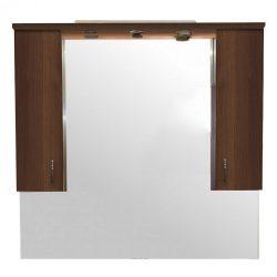 Bianca Plus 105 fürdőszoba bútor felsőszekrény, aida dió színben