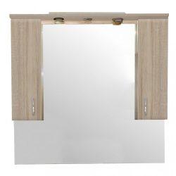 Bianca Plus 105 fürdőszoba bútor felsőszekrény, sonoma tölgy színben
