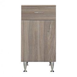 Bianca Plus 45 alacsony szekrény 1 ajtóval, 1 fiókkal, rauna szil színben, balos