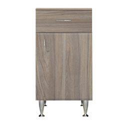 Bianca Plus 45 alacsony szekrény 1 ajtóval, 1 fiókkal, rauna szil színben, jobbos
