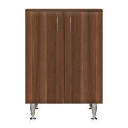 Bianca Plus 60 alacsony szekrény, 2 ajtóval, aida dió színben