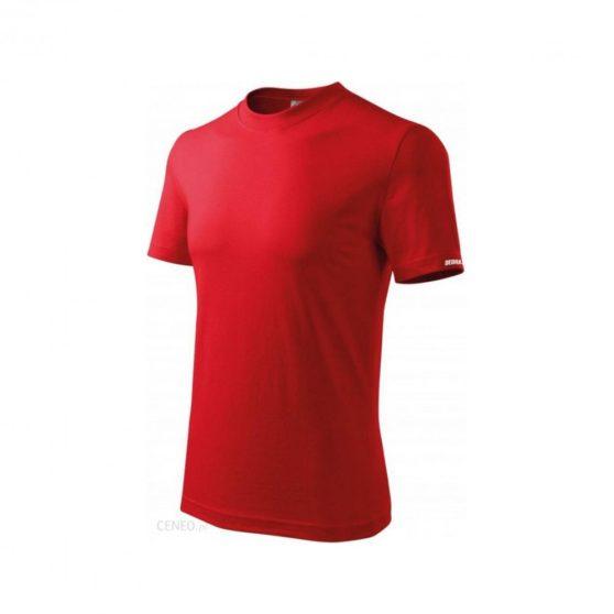 Férfi rövid ujjú póló, piros