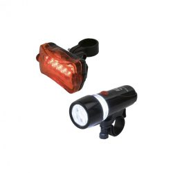Kerékpárlámpa-készlet, LED-es