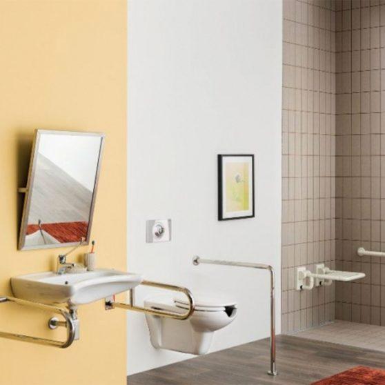 VITAL porcelán fali wc mozgássérültek számára
