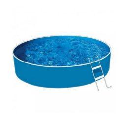 Lagoon Basic merevfalú kerek medence, homokszűrővel, misty fóliás 360x90 cm