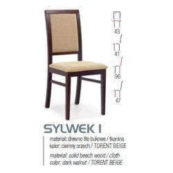 Sylwek 1 fa étkező szék