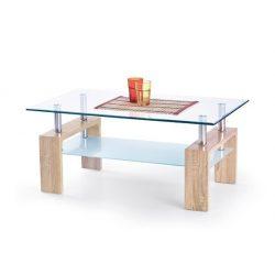 Diana Intro üveg Dohányzóasztal