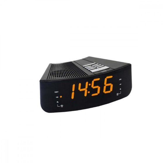 Digitális, LED ébresztőóra rádióval