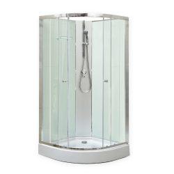 Marco White II 80x80 cm zuhanykabin zuhanytálcával