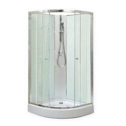 Marco White II 90x90 cm zuhanykabin zuhanytálcával