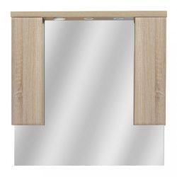 Seneca 105 cm-es tükrös felsőszekrény, Sonoma tölgy