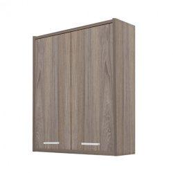 Nerva 60 fali szekrény 2 ajtóval, rauna szil