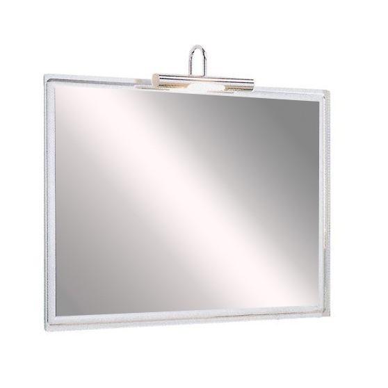 SL15 Fürdőszobai tükör halogénvilágítással