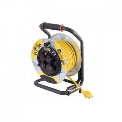 STANLEY kábeldob, IP44,  25m kábellel, H07RN-F 3G1,5