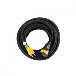 STANLEY lengőaljzat, IP44, 10m kábel, H07RN-F 3G1,5