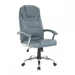 SAFIN Irodai szék, világosszürke-króm