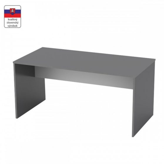RIOMA TYP 16 Íróasztal, grafit-fehér